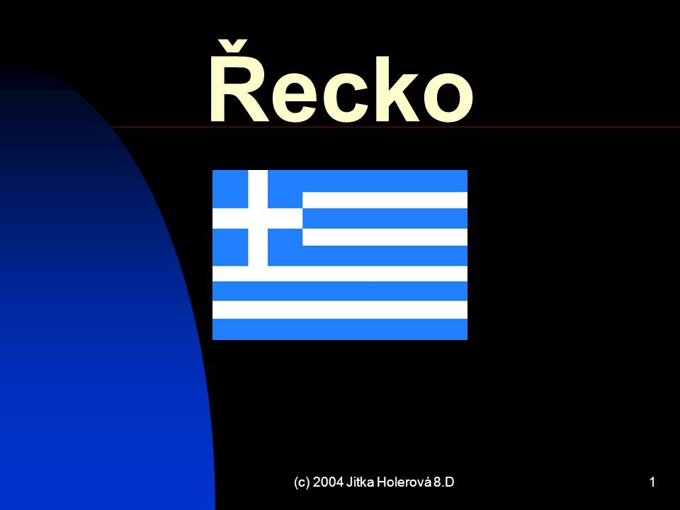 Řecko (c) 2004 Jitka Holerová 8.D
