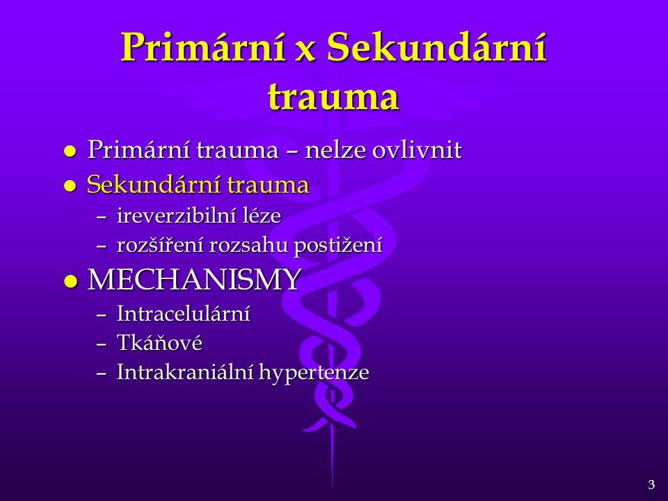 Primární x Sekundární trauma