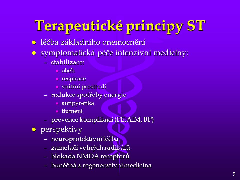 Terapeutické principy ST