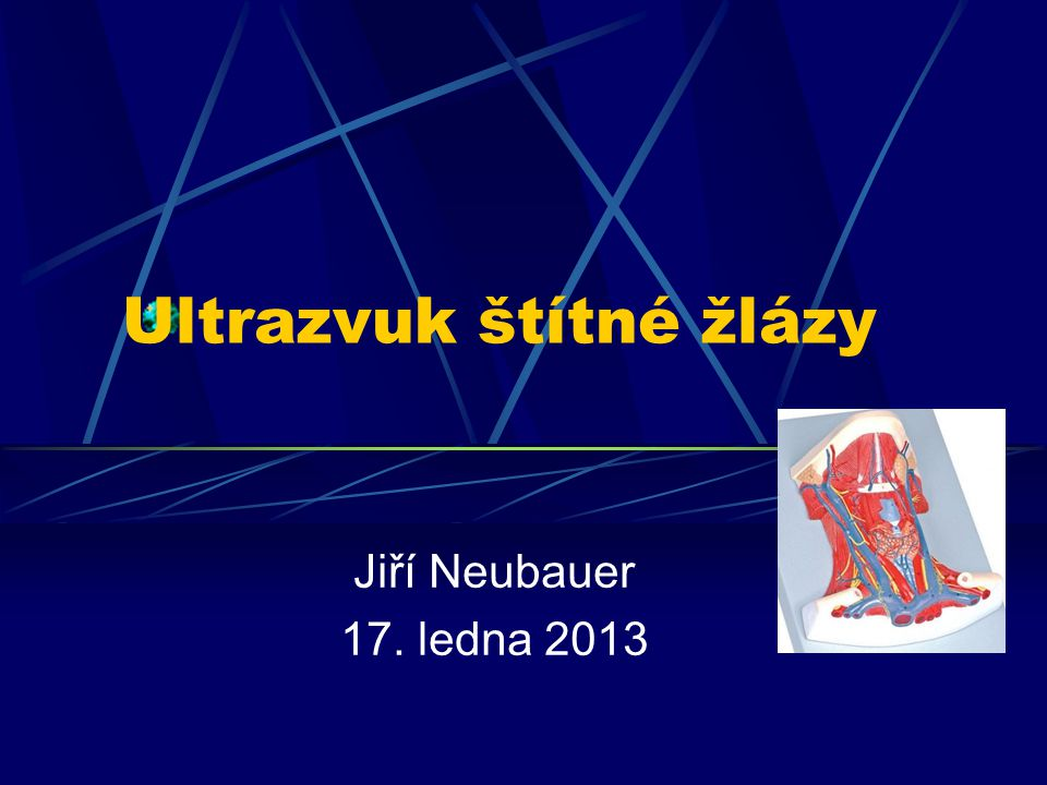 Ultrazvuk štítné žlázy