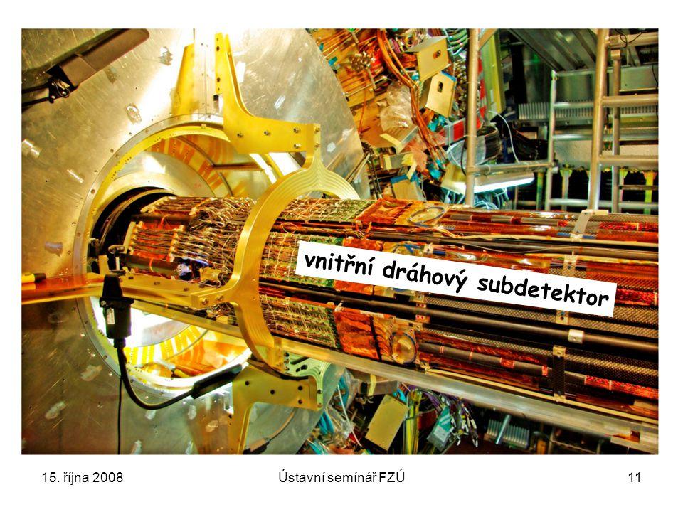 vnitřní dráhový subdetektor