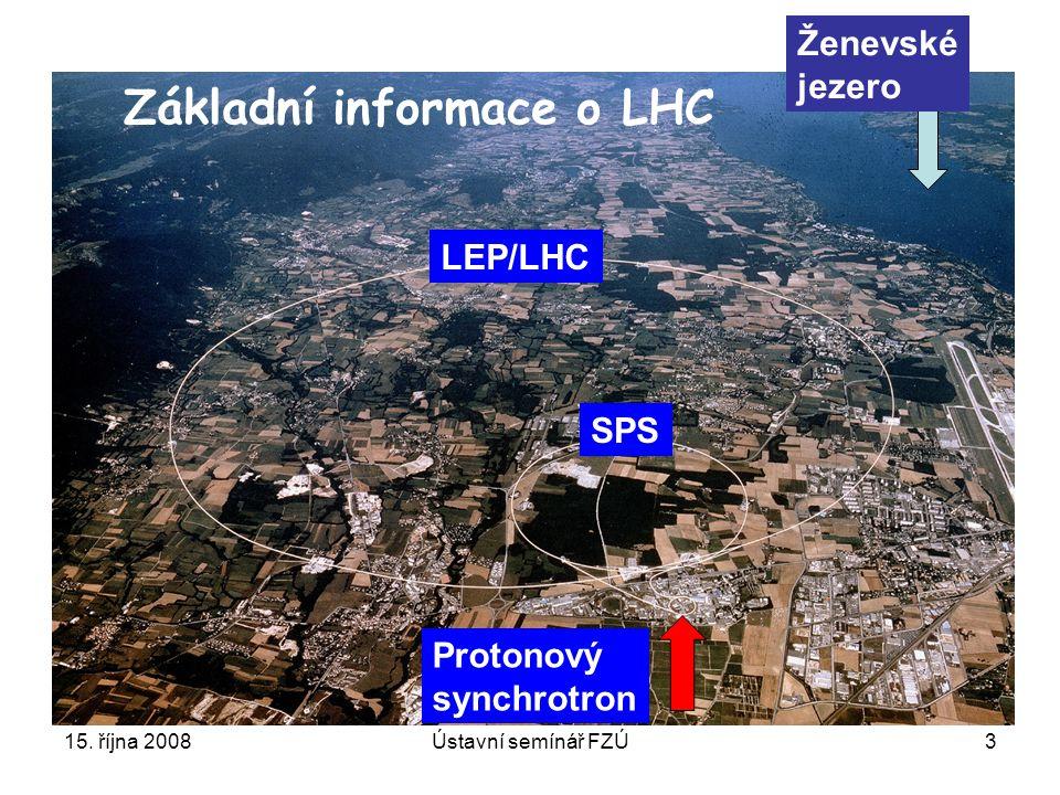 Základní informace o LHC