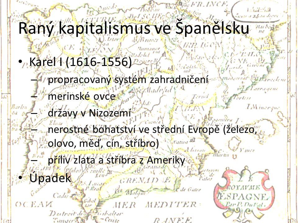 Raný kapitalismus ve Španělsku
