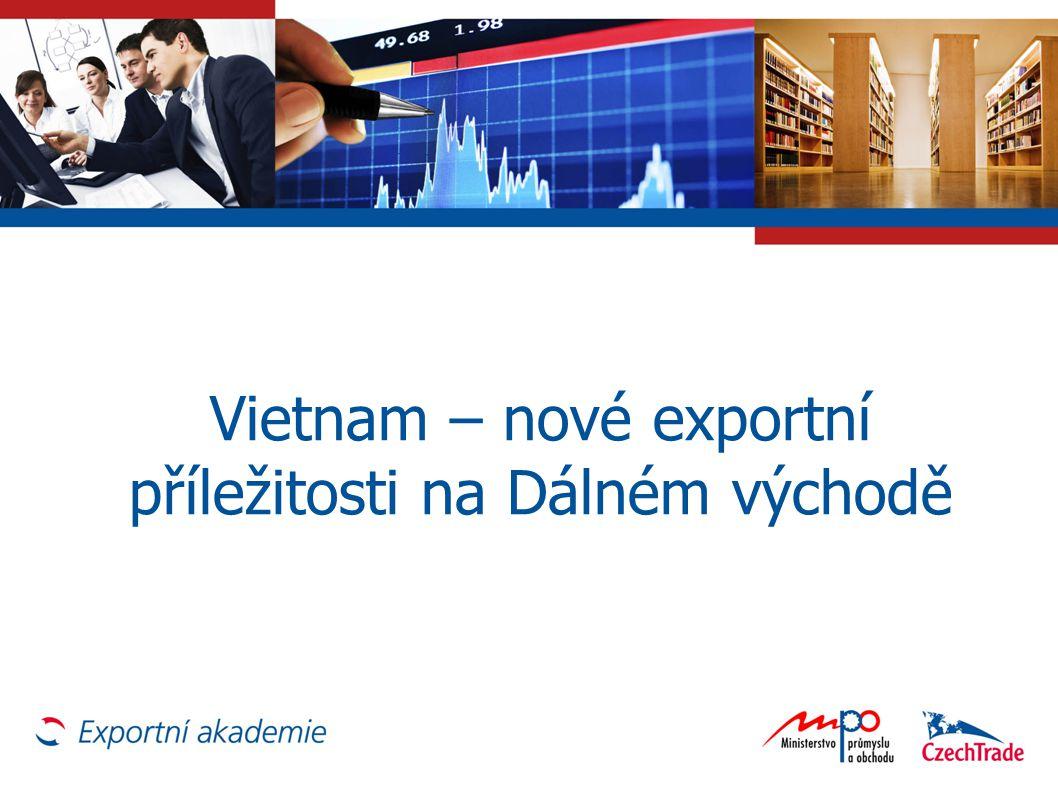 Vietnam – nové exportní příležitosti na Dálném východě