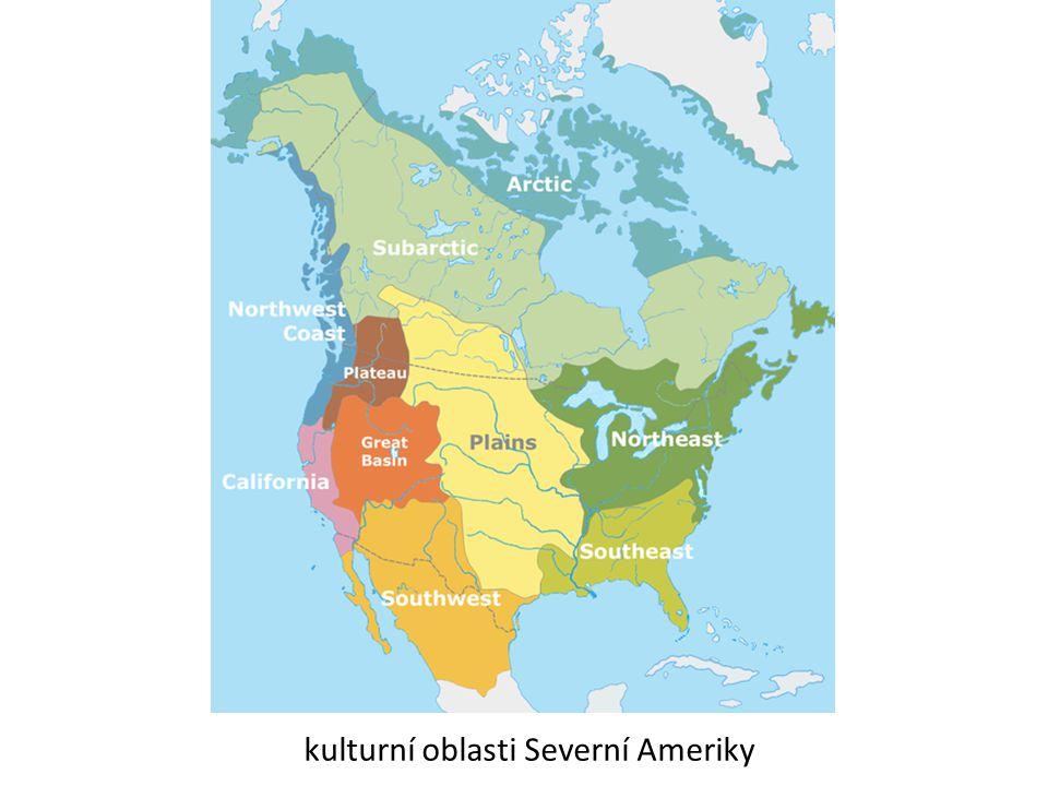kulturní oblasti Severní Ameriky