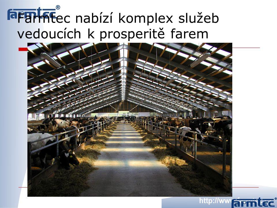Farmtec nabízí komplex služeb vedoucích k prosperitě farem