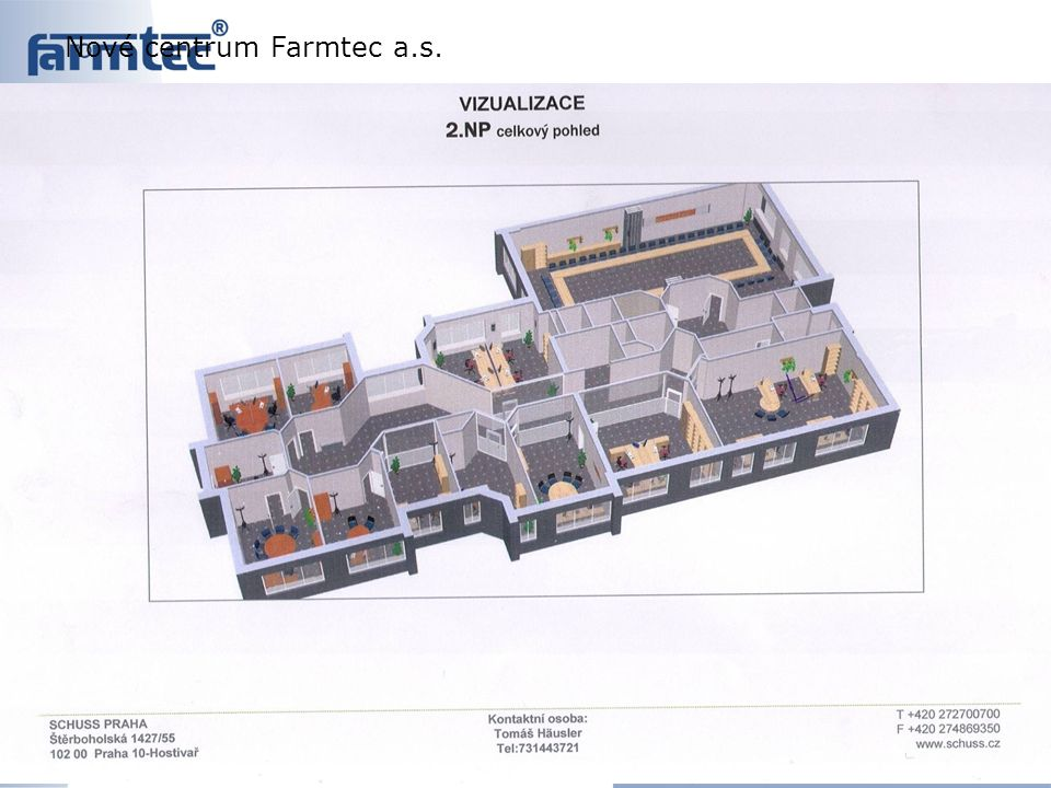 Nové centrum Farmtec a.s.