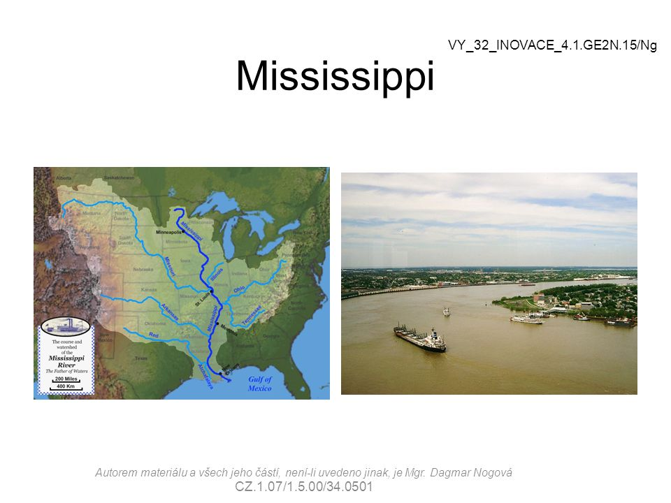 Mississippi VY_32_INOVACE_4.1.GE2N.15/Ng