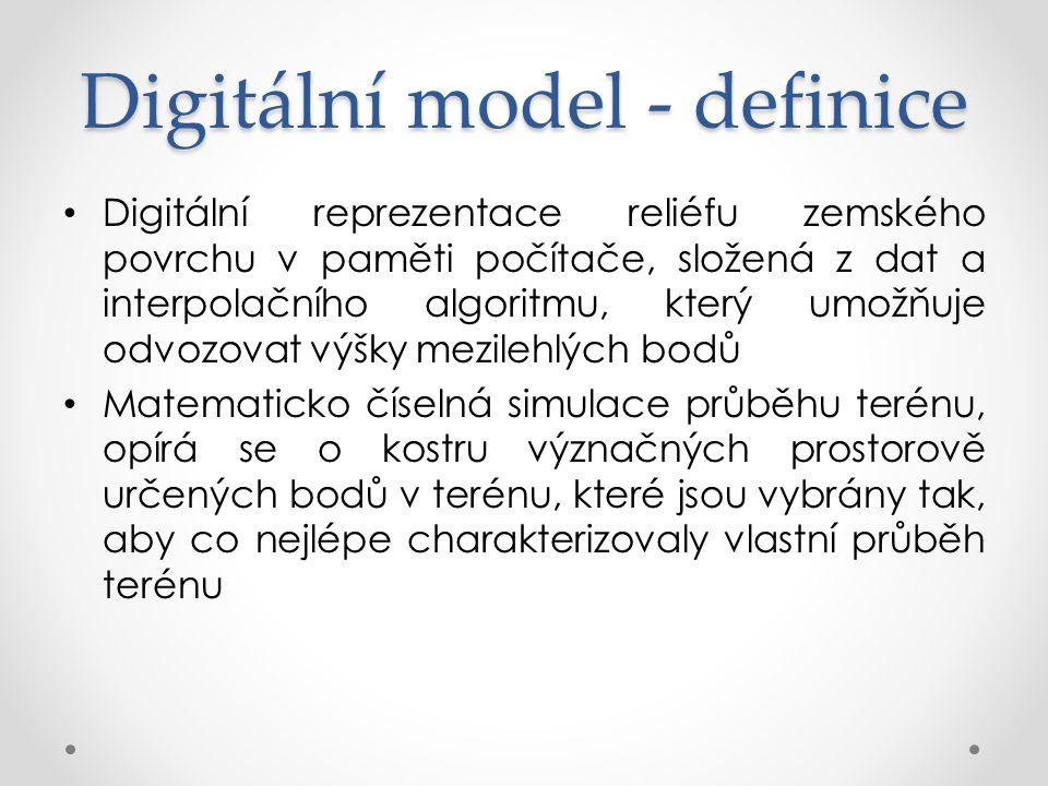 Digitální model - definice