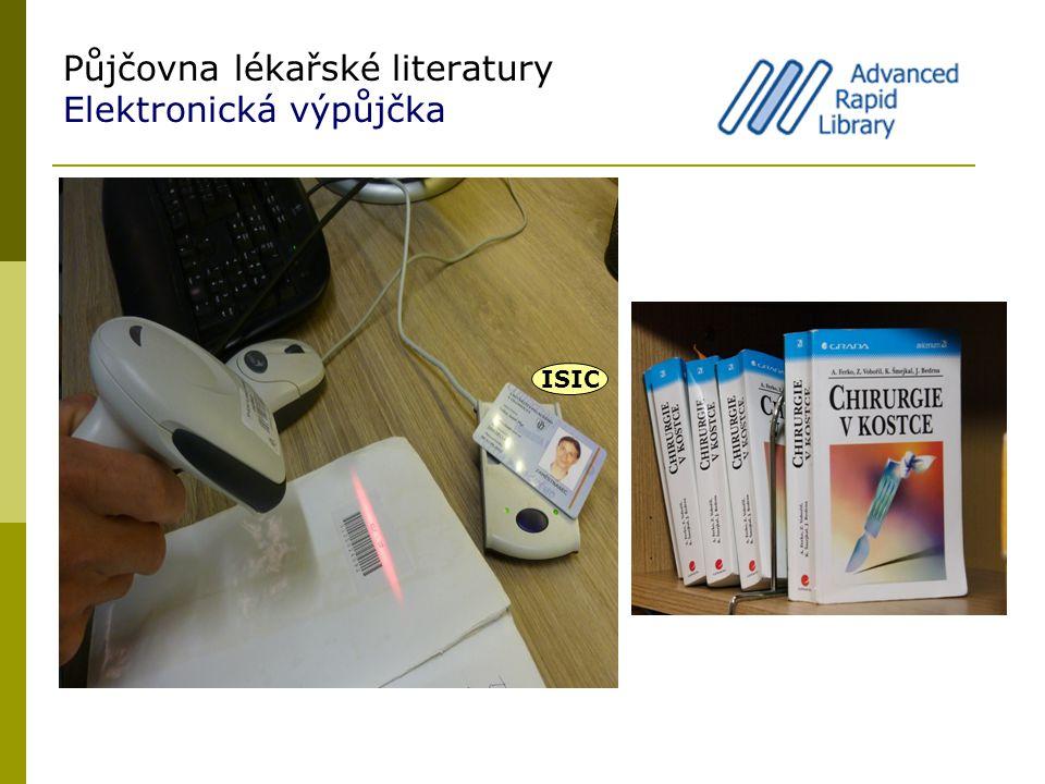 Půjčovna lékařské literatury Elektronická výpůjčka