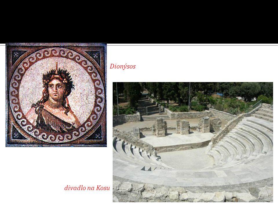 Dionýsos divadlo na Kosu