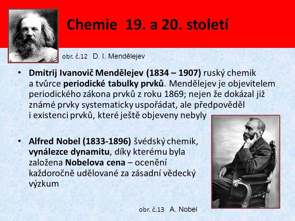 Chemie 19. a 20. století