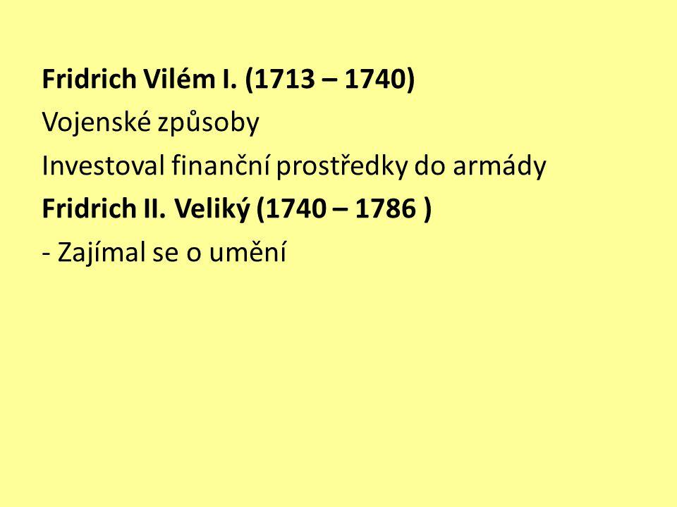 Fridrich Vilém I.