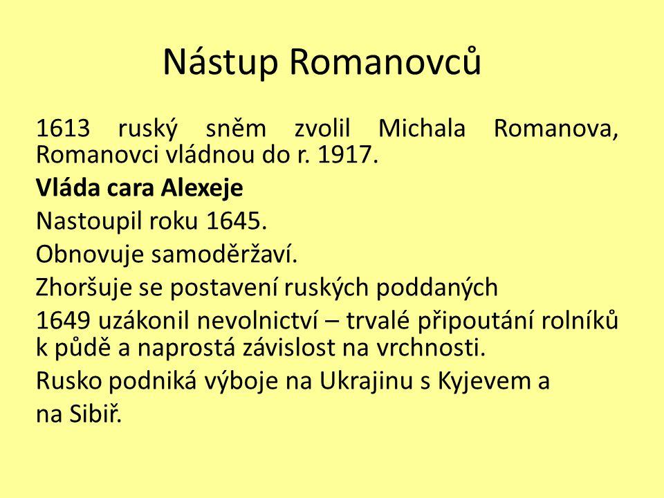 Nástup Romanovců