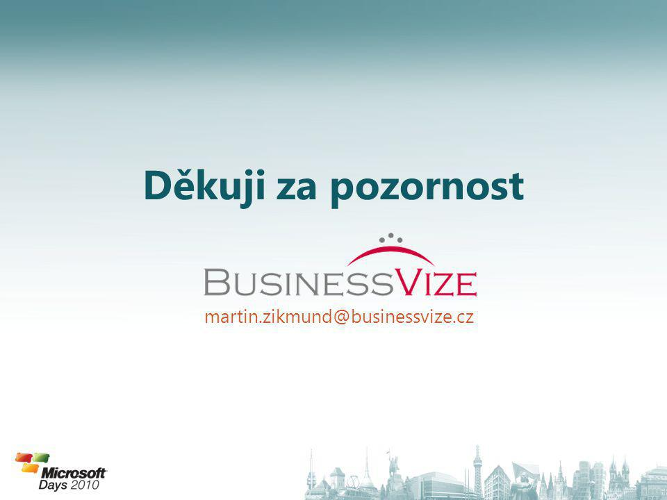 Děkuji za pozornost martin.zikmund@businessvize.cz