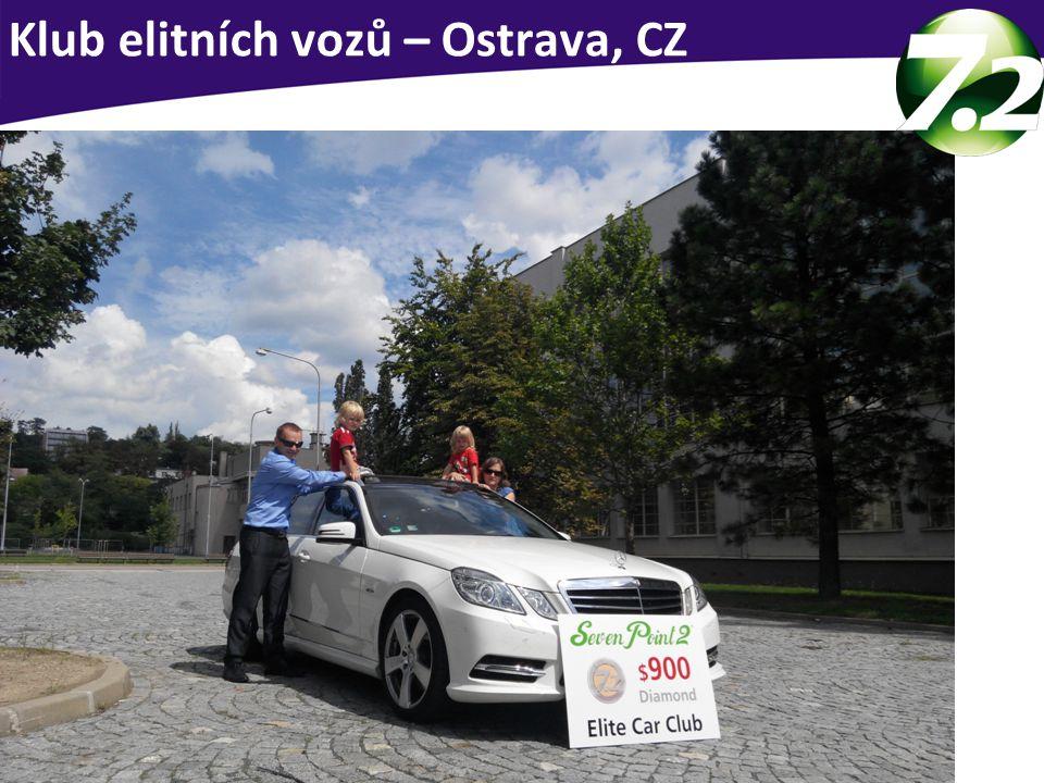Klub elitních vozů – Ostrava, CZ