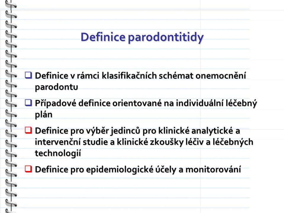 Definice parodontitidy