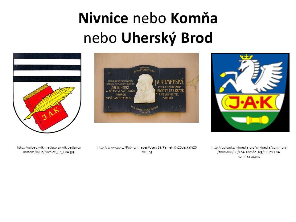 Nivnice nebo Komňa nebo Uherský Brod