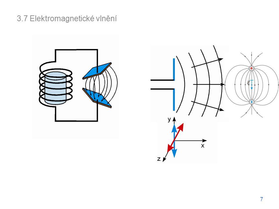 3.7 Elektromagnetické vlnění