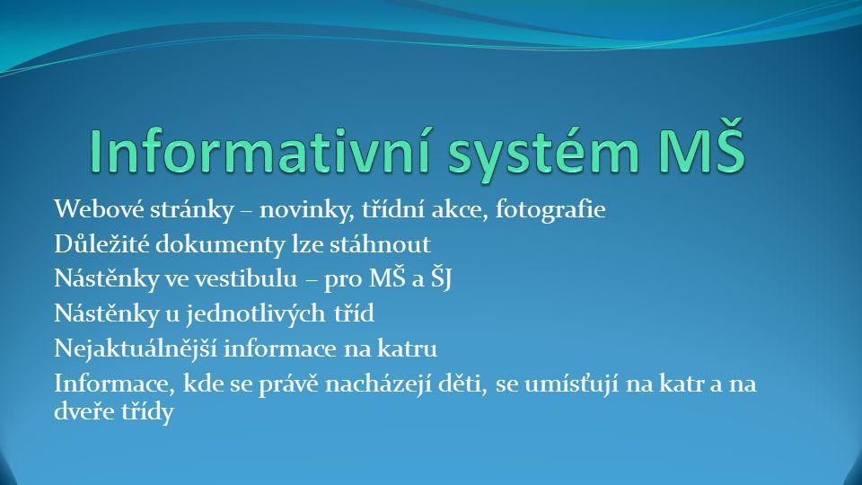 Informativní systém MŠ