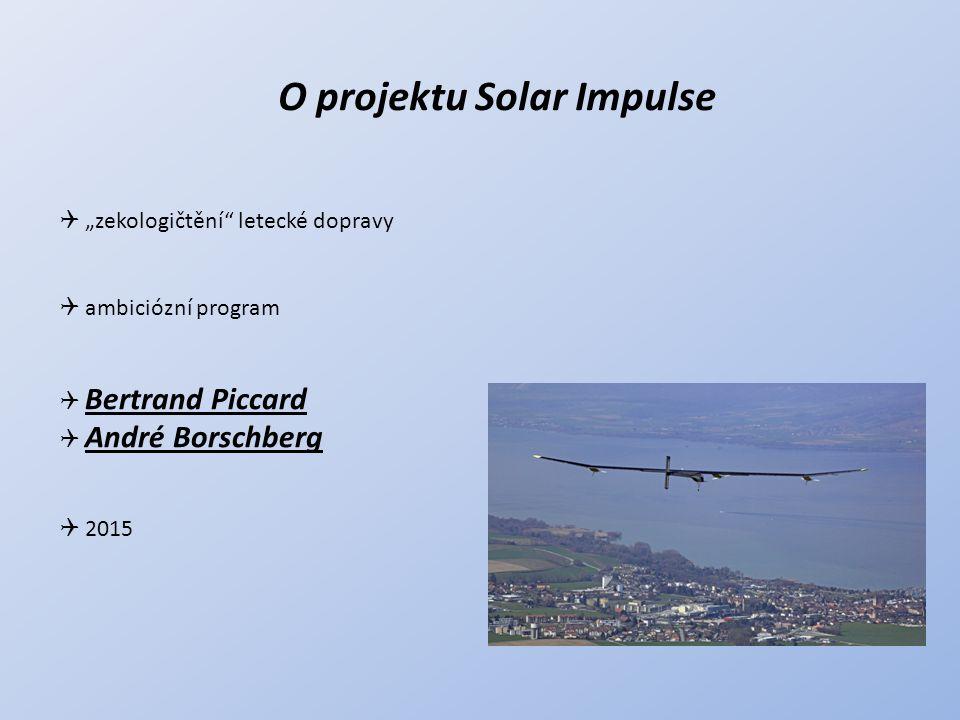 O projektu Solar Impulse