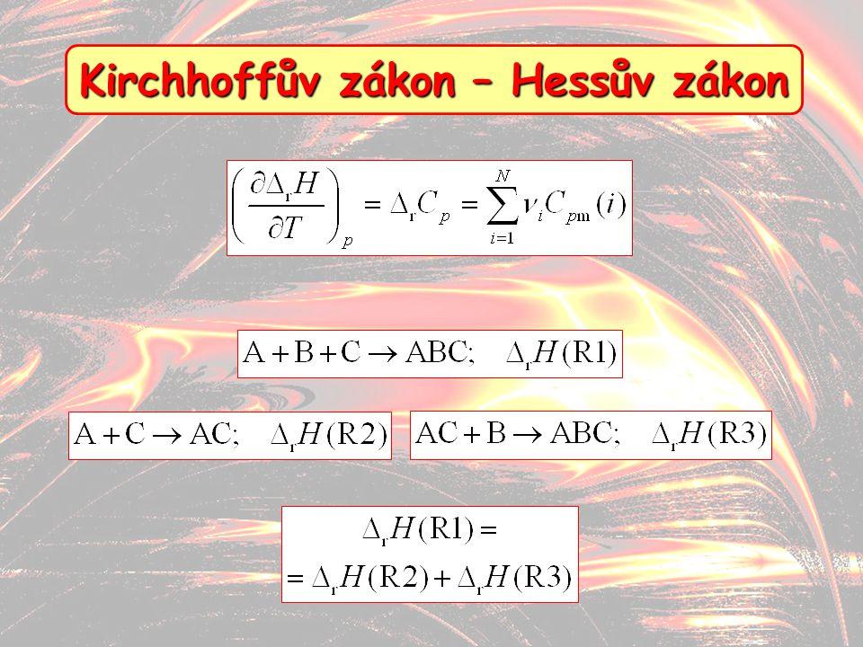 Kirchhoffův zákon – Hessův zákon
