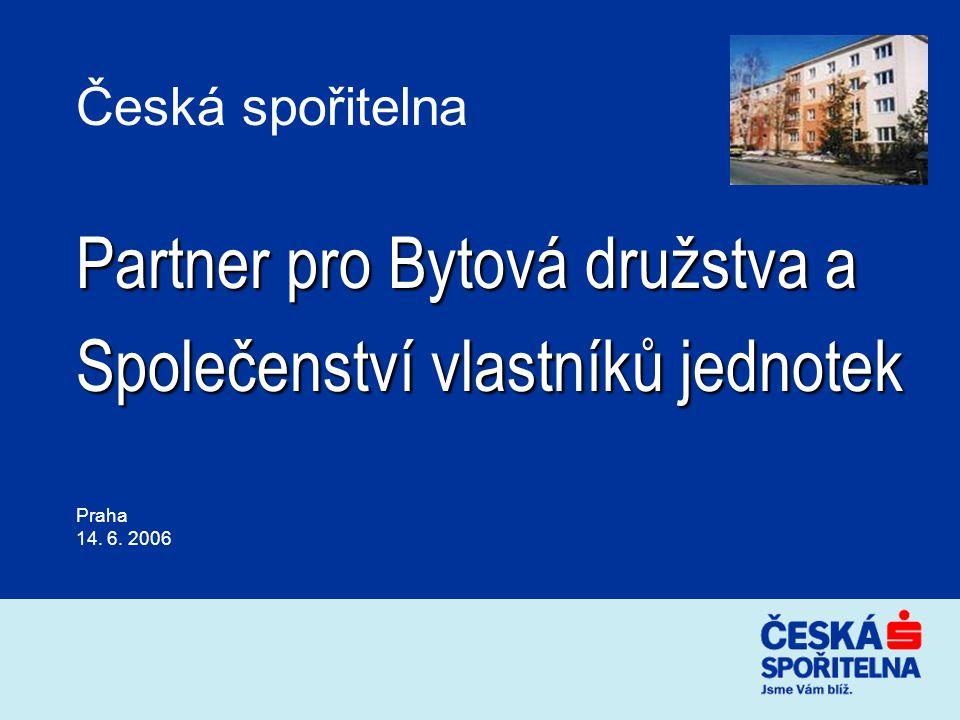 Partner pro Bytová družstva a Společenství vlastníků jednotek