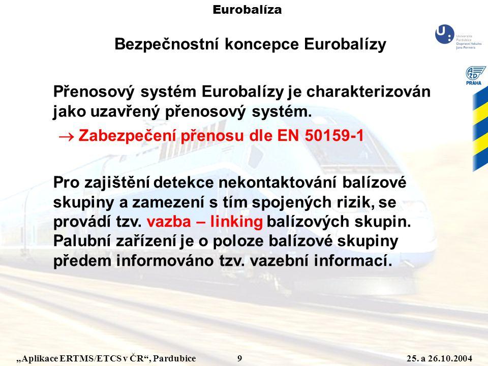 Bezpečnostní koncepce Eurobalízy