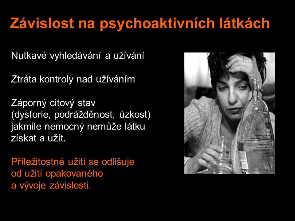 Závislost na psychoaktivních látkách