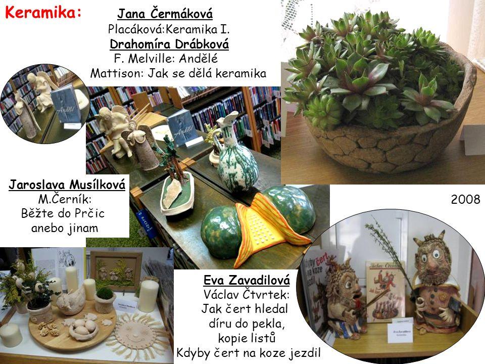 Keramika: Jana Čermáková