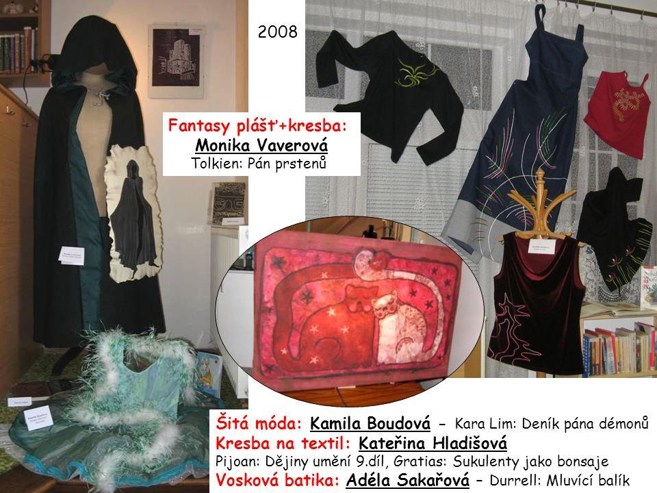 Fantasy plášť+kresba: