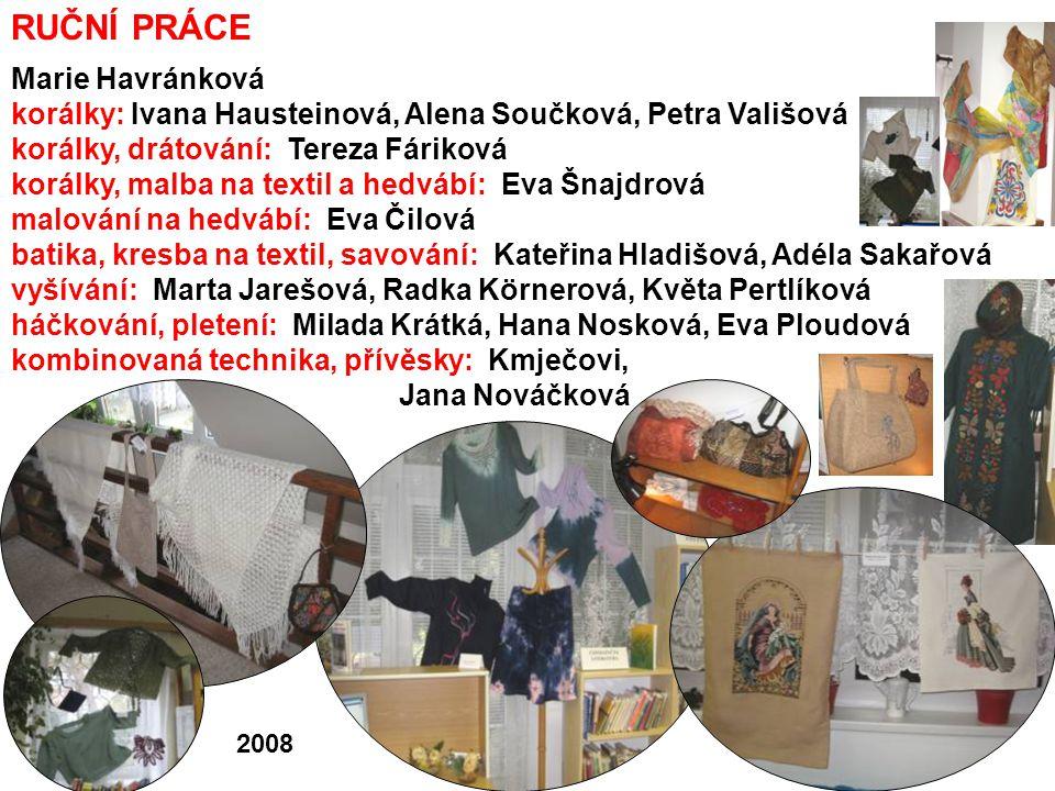 RUČNÍ PRÁCE Marie Havránková