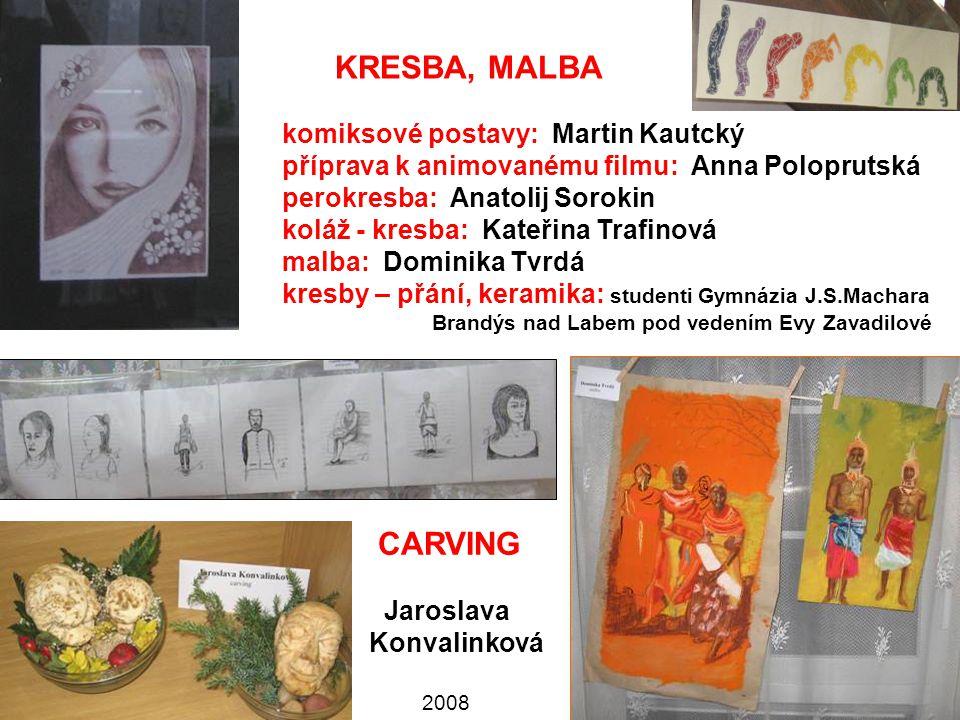 KRESBA, MALBA CARVING komiksové postavy: Martin Kautcký