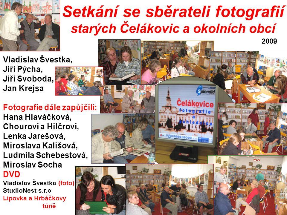 Setkání se sběrateli fotografií starých Čelákovic a okolních obcí
