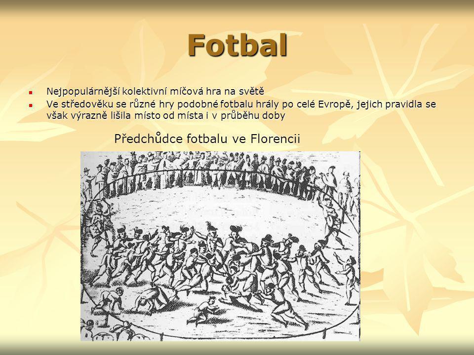Předchůdce fotbalu ve Florencii