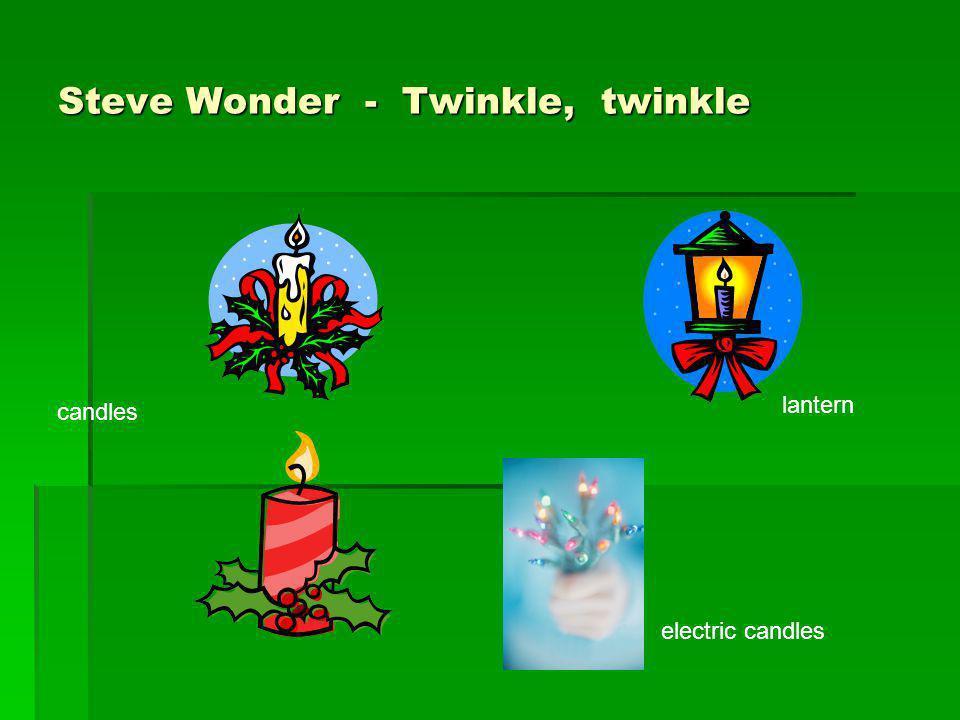 Steve Wonder - Twinkle, twinkle