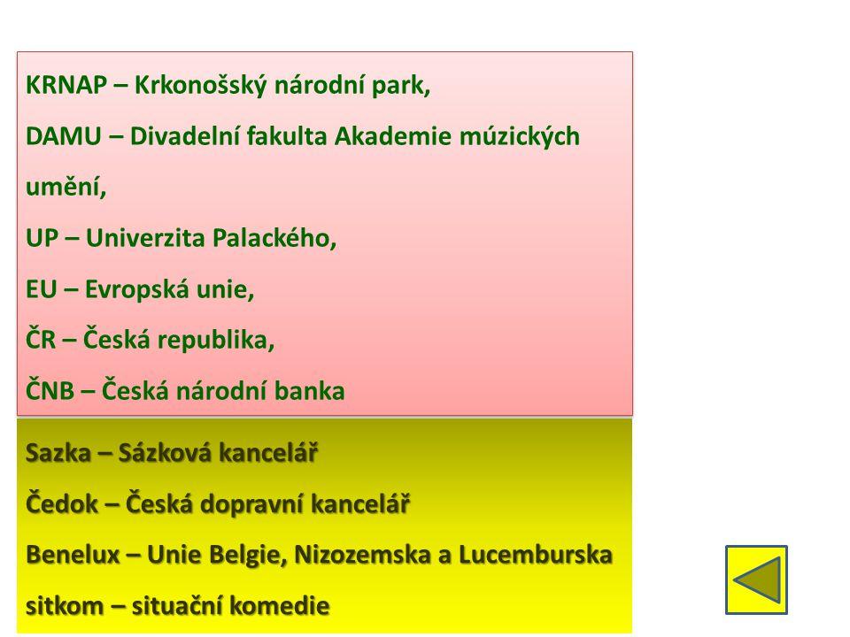 KRNAP – Krkonošský národní park,