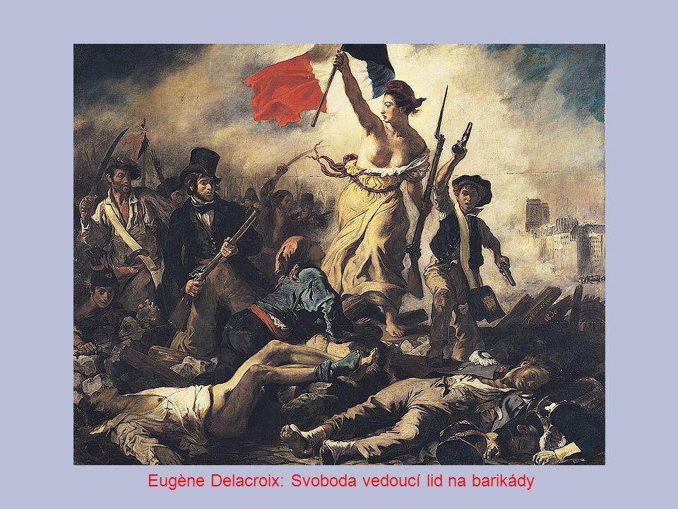 Eugène Delacroix: Svoboda vedoucí lid na barikády
