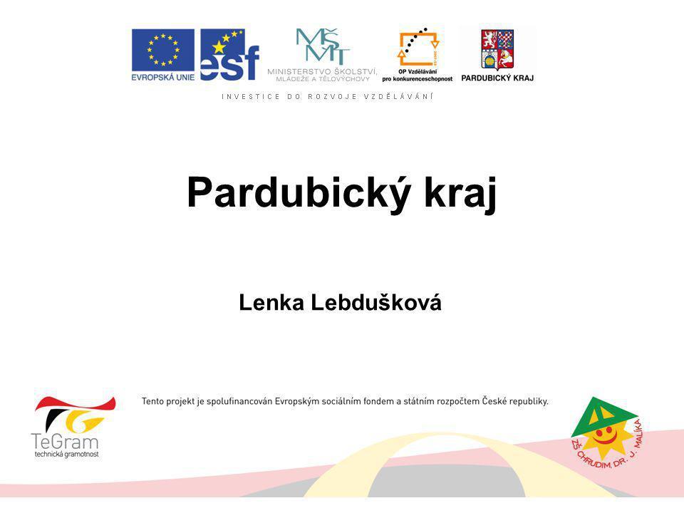 Pardubický kraj Lenka Lebdušková