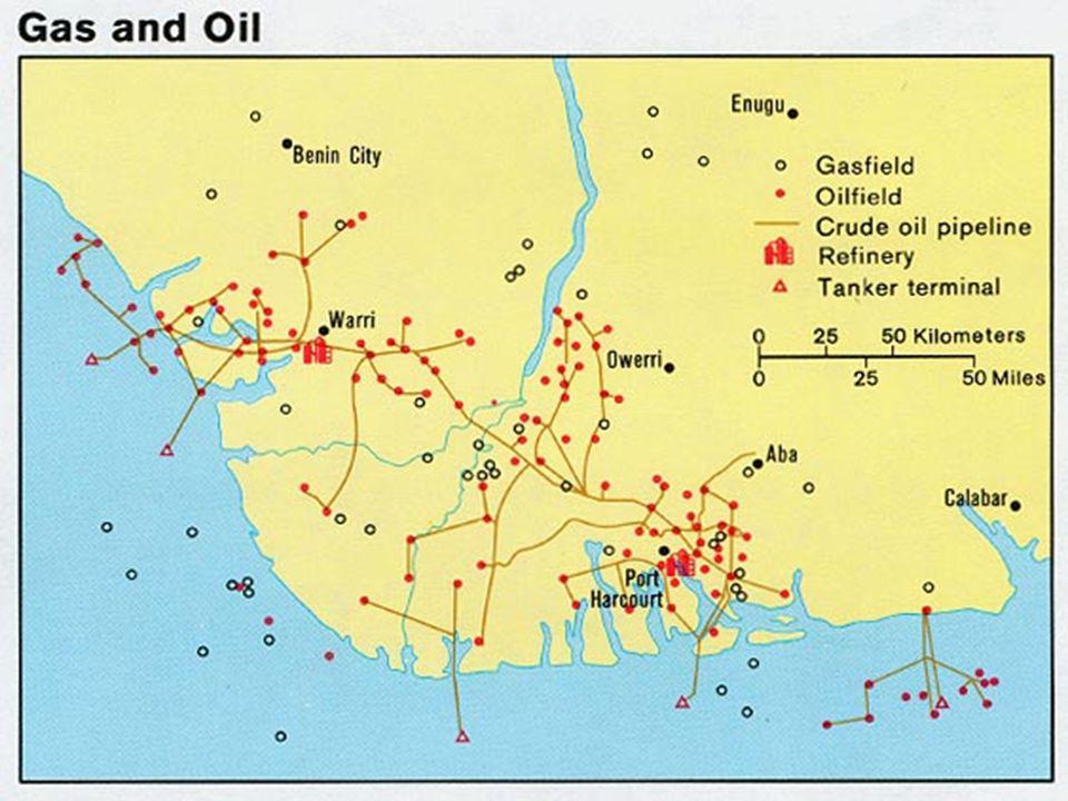 ROPA Nigérie je 6.největším exportérem ropy