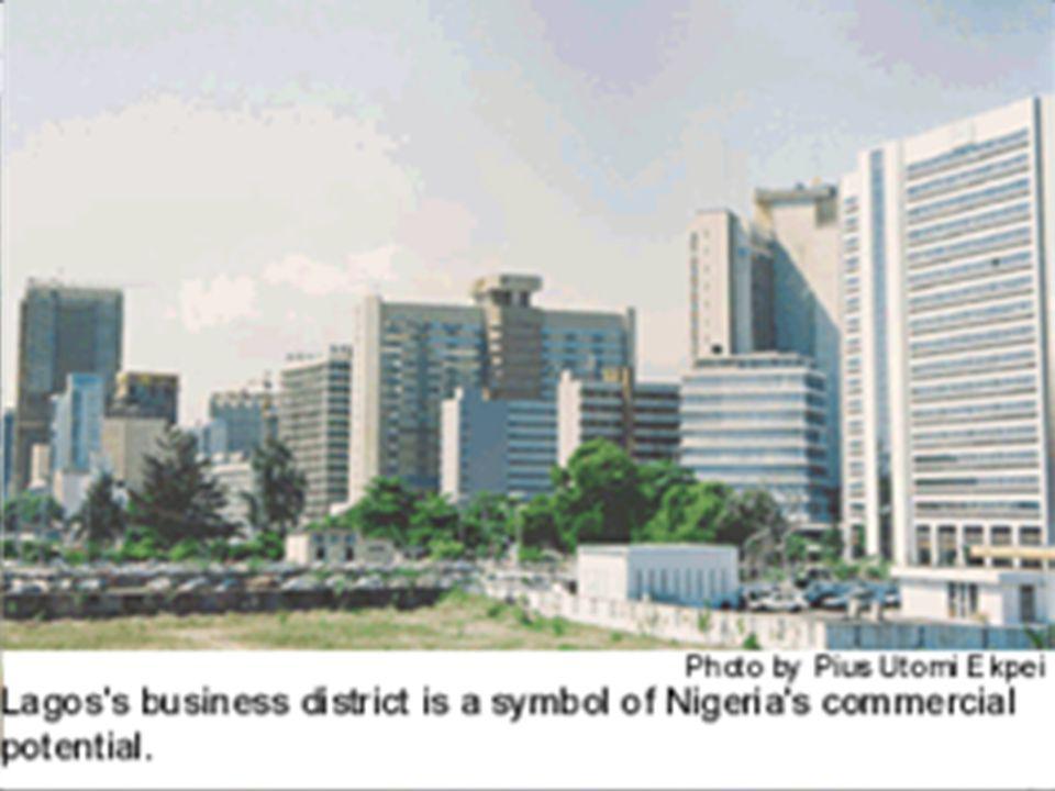 ZAJÍMAVOSTI LAGOS. 2.největší město Afriky( 13mil.obyvatel)