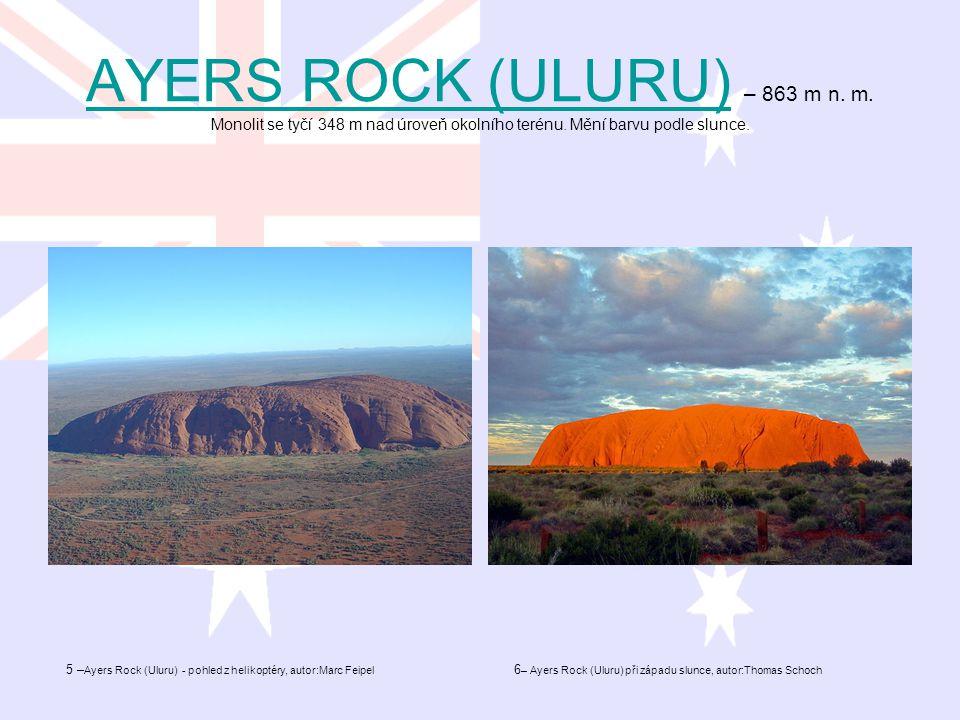 AYERS ROCK (ULURU) – 863 m n. m
