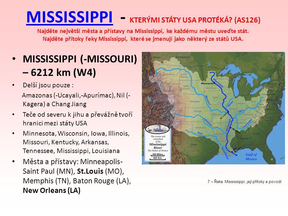 MISSISSIPPI - KTERÝMI STÁTY USA PROTÉKÁ