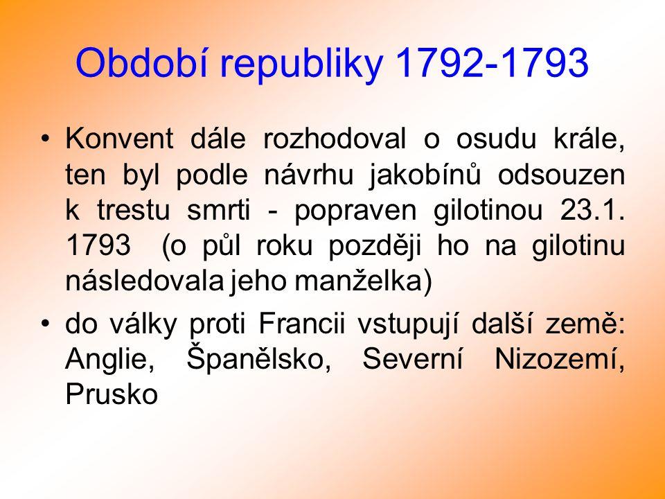 Období republiky 1792-1793