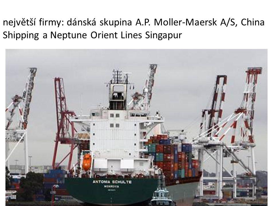největší firmy: dánská skupina A. P