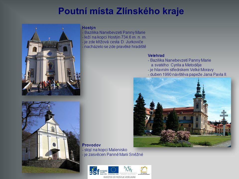 Poutní místa Zlínského kraje