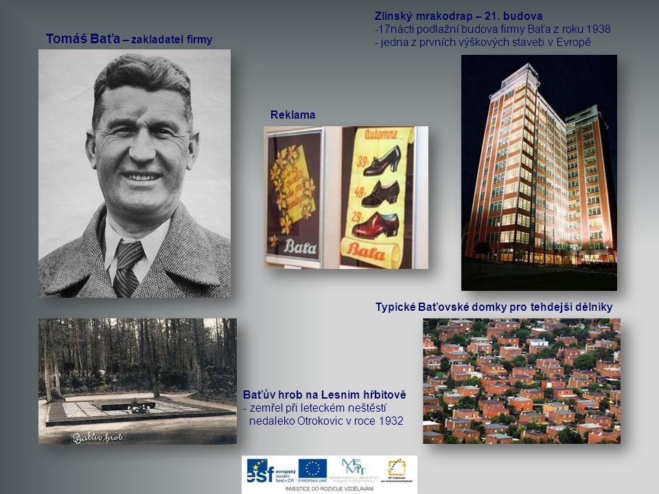 Tomáš Baťa – zakladatel firmy