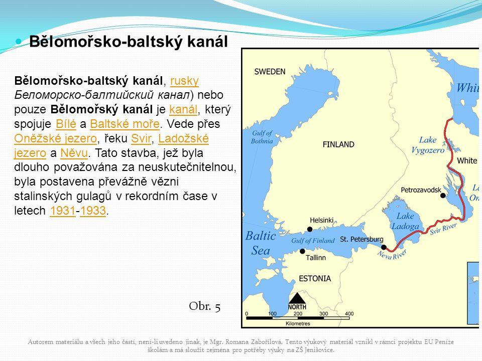 Bělomořsko-baltský kanál