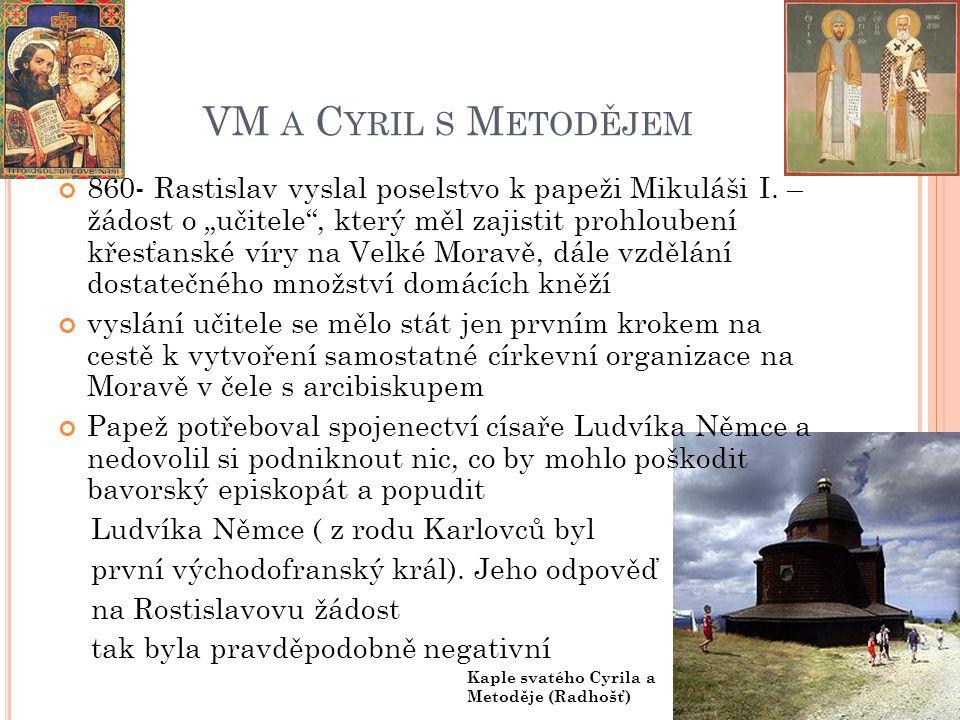 VM a Cyril s Metodějem