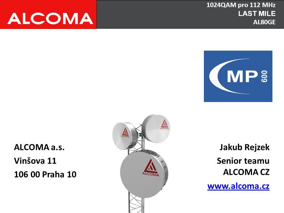 ALCOMA a.s. Vinšova 11 106 00 Praha 10